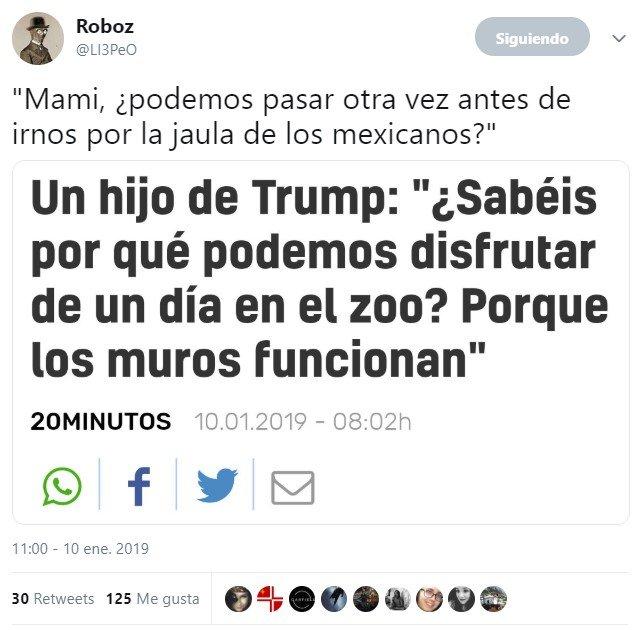 """""""Los muros funcionan"""""""