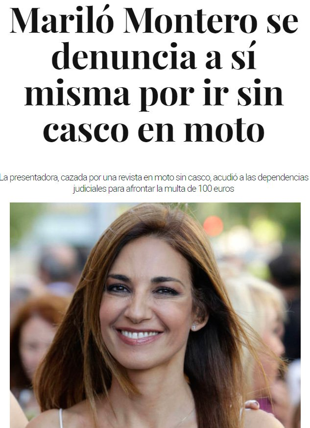 Mariló Montero vuelve a optar al premio Nobel de inteligencia