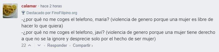Para que luego digan que las mujeres no ejercen violencia de género 😂