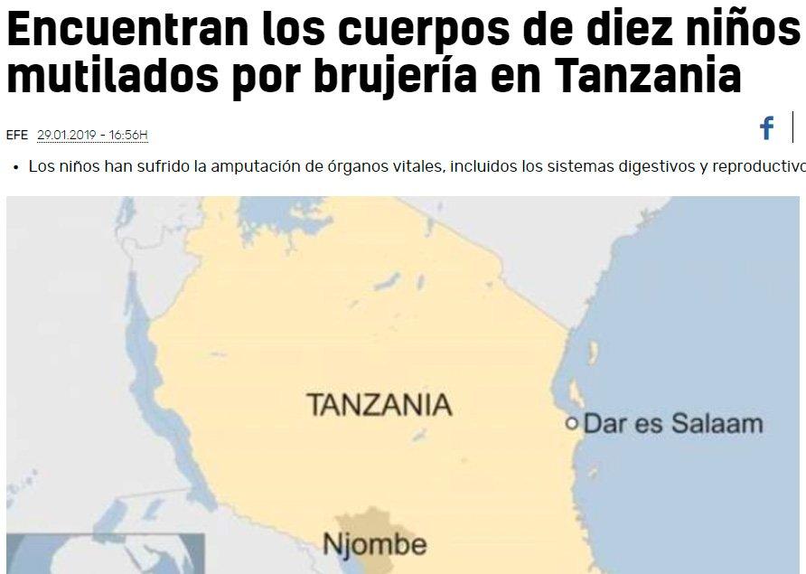 Mientras tanto, en Tanzania...
