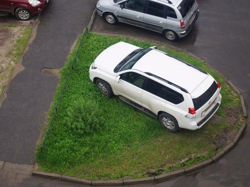 Galería de aparcamiento extremo made in Russia