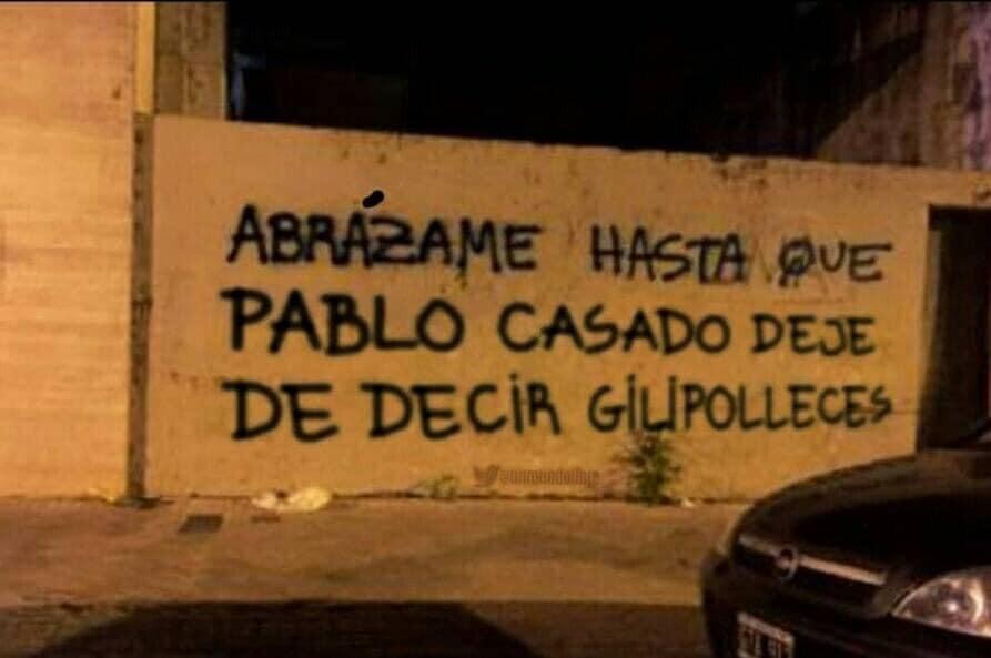 Pablo Casado, el Ramoncín de la política
