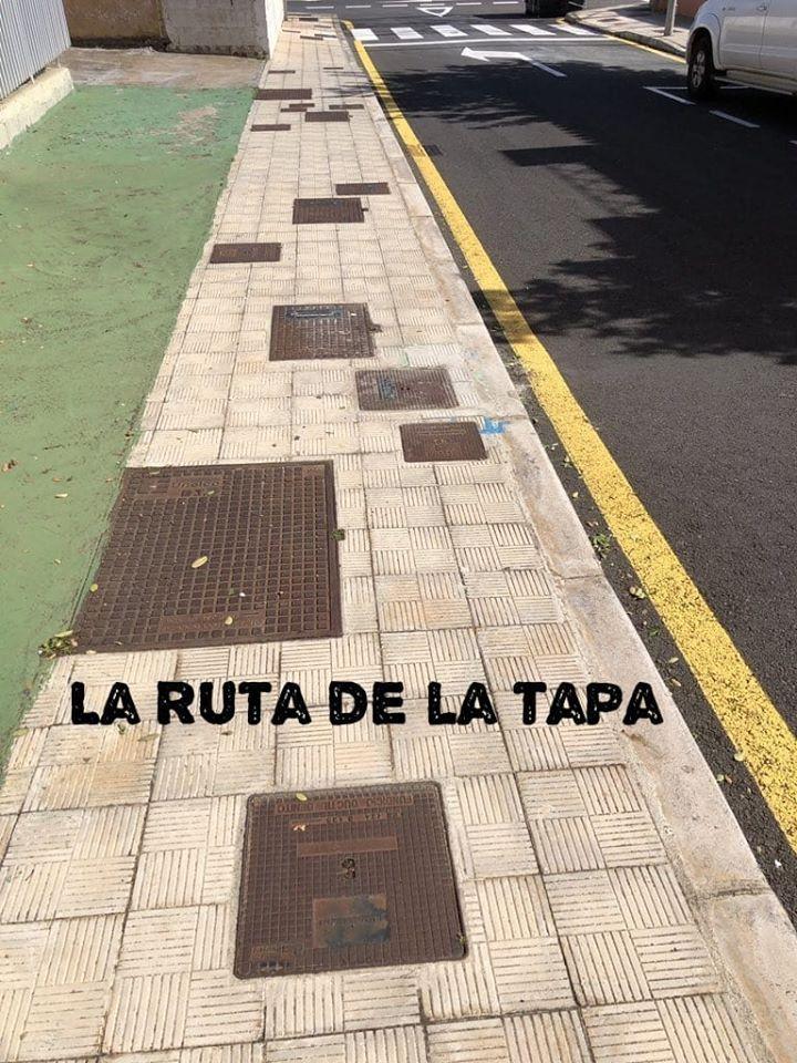 La ruta de la tapa