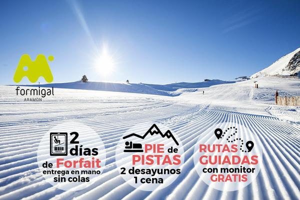 Oferta finde de esquí en Formigal