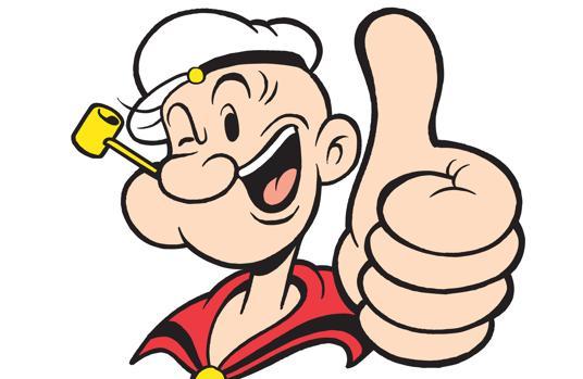 ¿A qué edad te enteraste de que Popeye se llama así por su ojo saltón? (Pop eye en inglés)