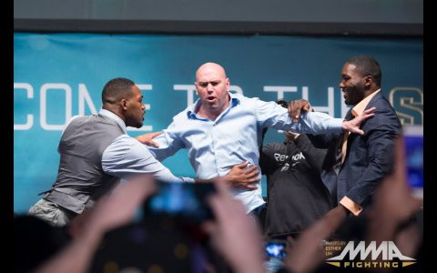 Cuando Jon Jones y Anthony Johnson le hicieron pasar un mal rato a Dana White.