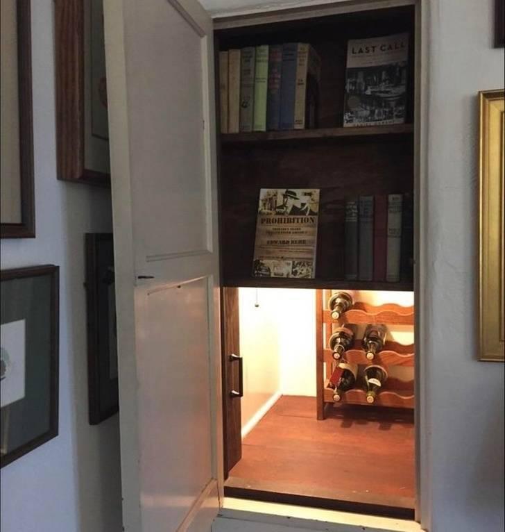Una de habitaciones secretas en casas: