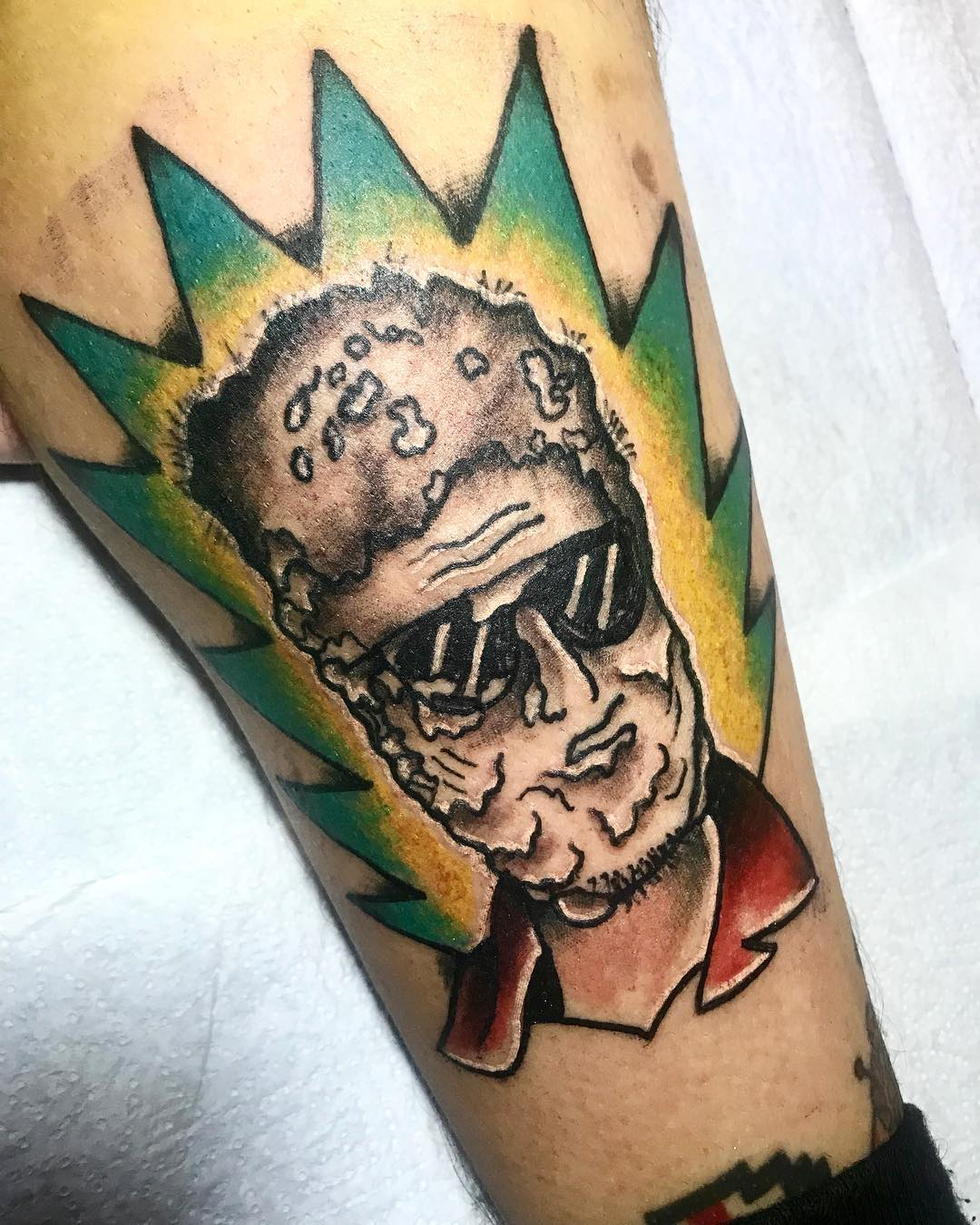 Cuando la cosa decaiga te haces un tatuaje de la Momia Fantástica