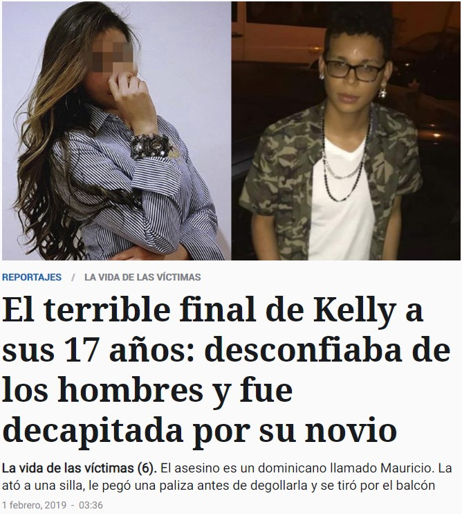 El terrible final de Kelly, y detalles de su agresor