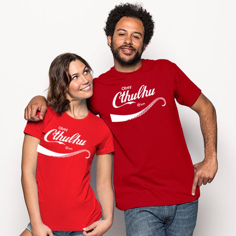 Camiseta Obey Cthulhu