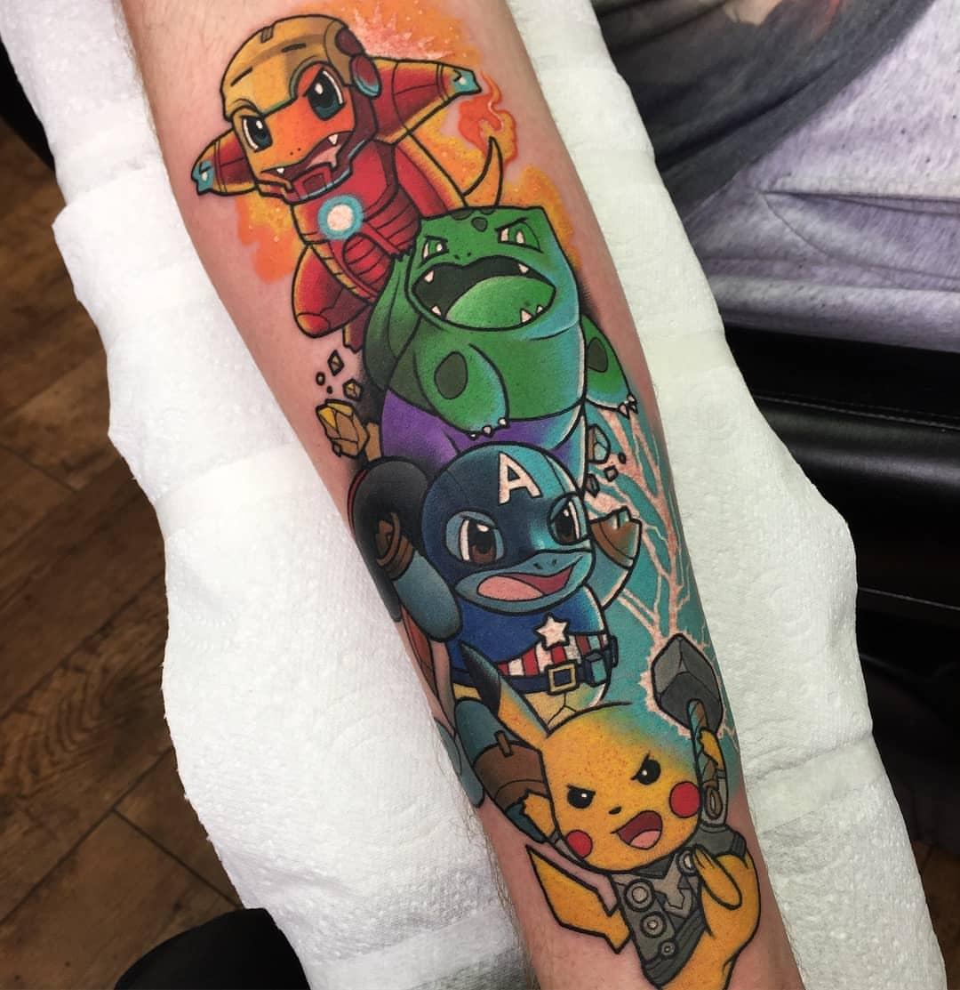Yo: Me gustan Los Vengadores y Pokémon