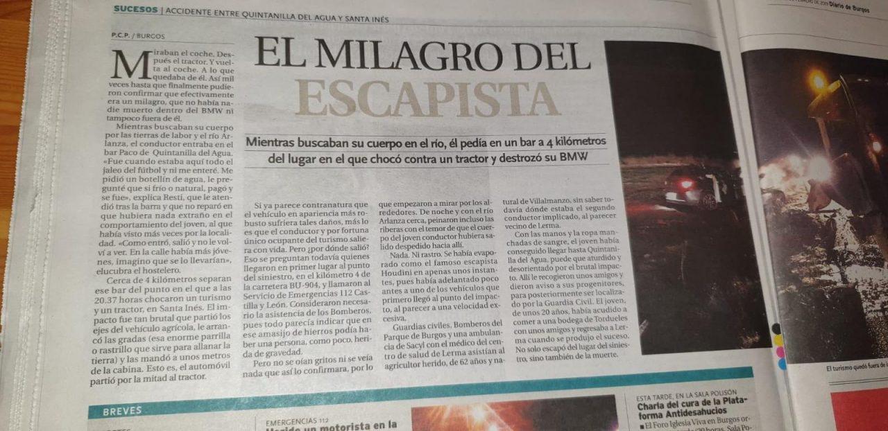 El milagro del escapista