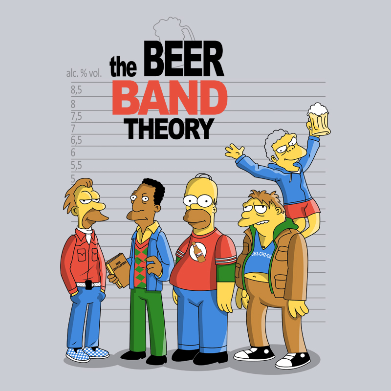Camiseta The Beer Band Theory