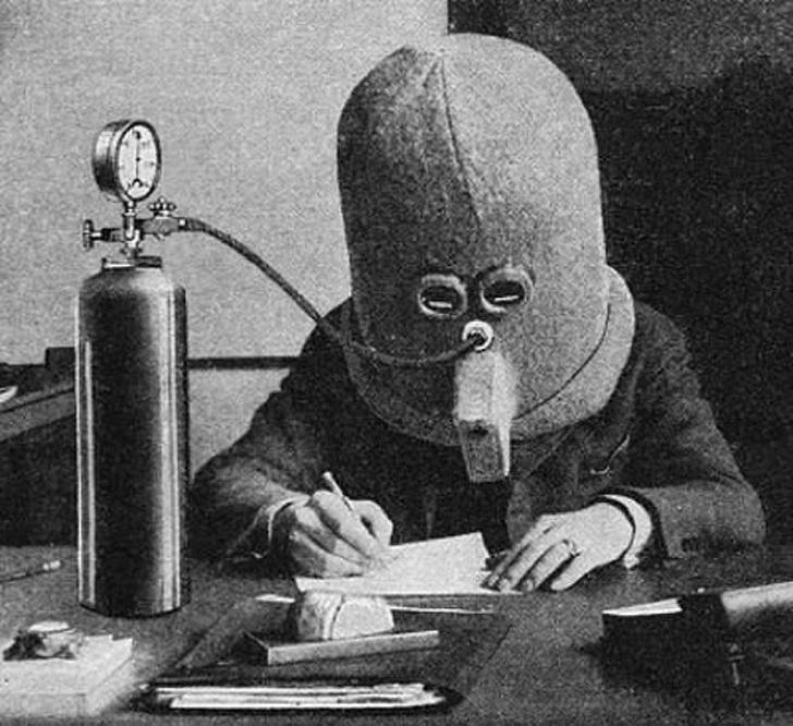Fotos de cosas bizarras que existían en el pasado