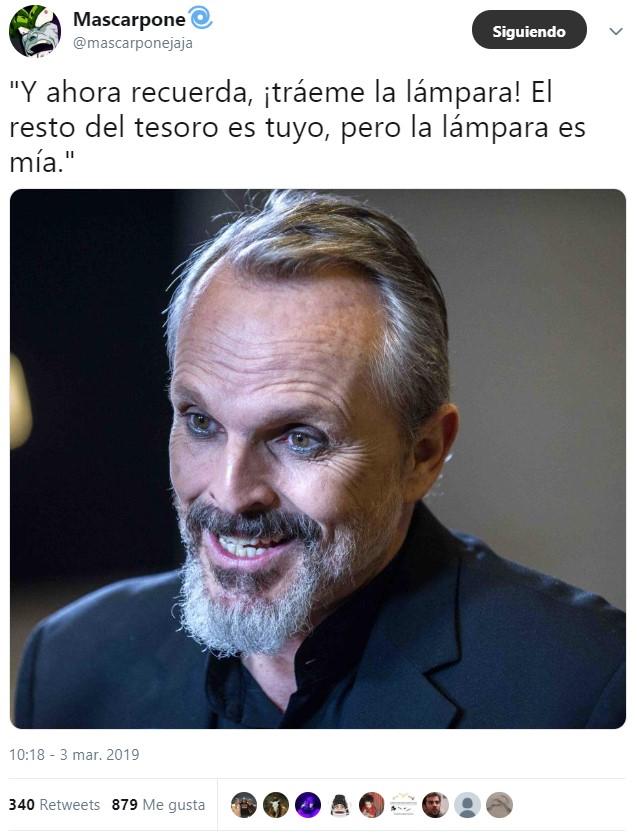 ¿Qué clase de poder maligno se está apoderando de Miguel Bosé?