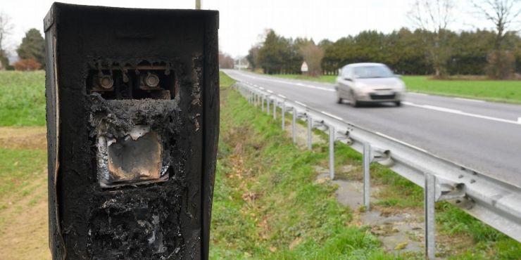 Los radares franceses en crisis: destruídos cerca del 75% del total.