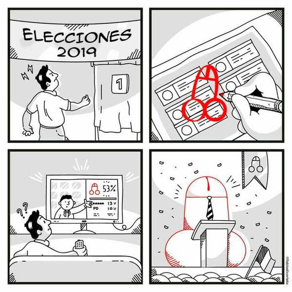 Cuidado con lo que votas... podría hacerse realidad