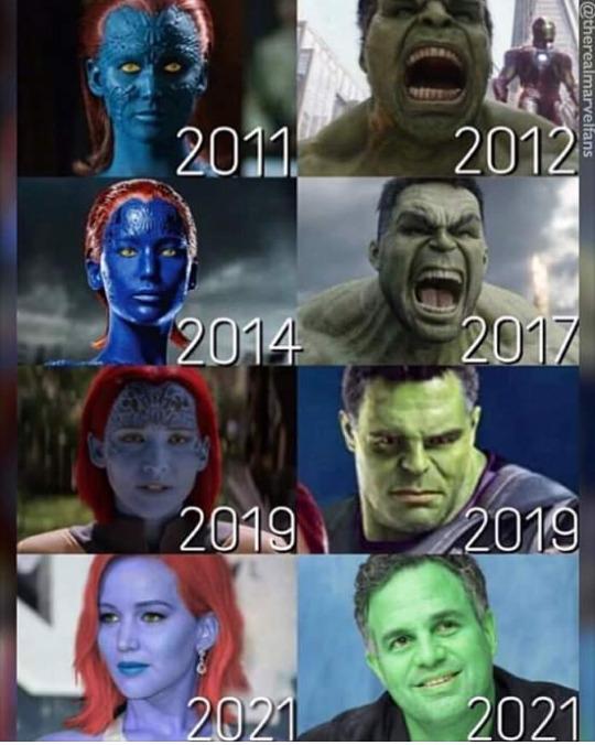 Superhéroes adictos al botox