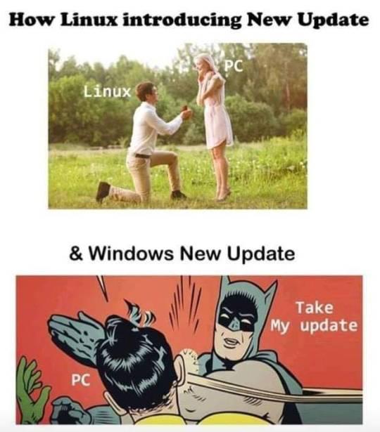 ¿En qué momento nos empezó a parecer normal que Windows se actualice cuando le sale del rabo?