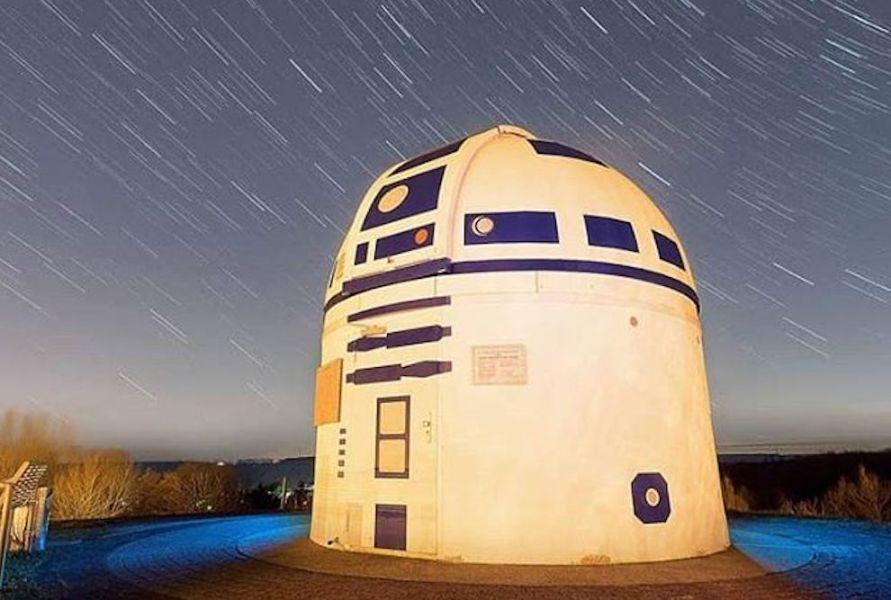 Un observatorio convertido en R2-D2 gigante