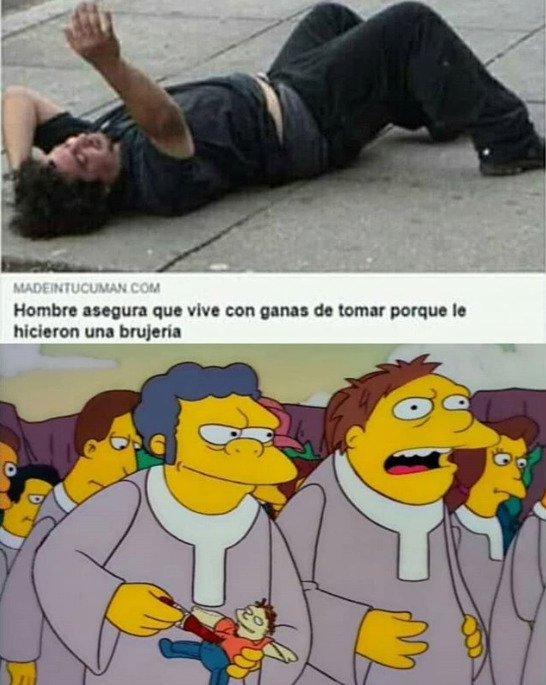 Los Simpsons again