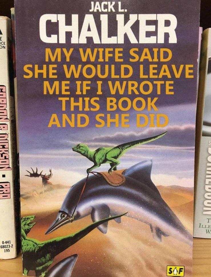"""""""Mi mujer dijo que me dejaría si escribía este libro, y lo hizo"""""""