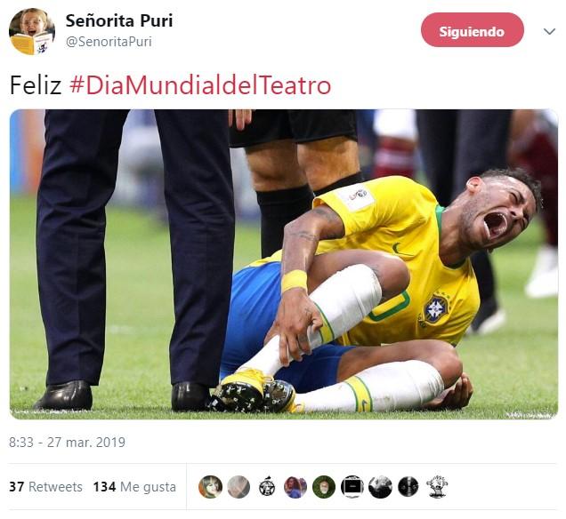Felicidades, Neymar