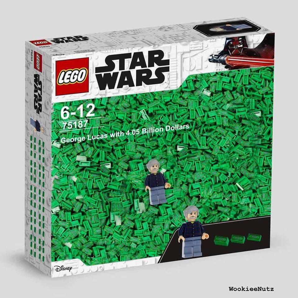 """""""George Lucas con 4050 millones de dólares"""""""