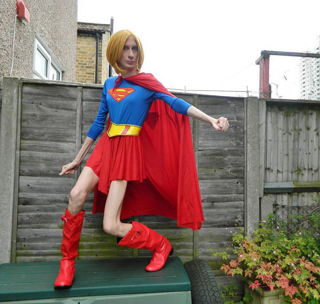 Super Woman no es su heroína favorita...