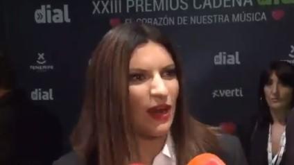 Laura Pausini sobre los rumores de que Malú está con Albert Rivera