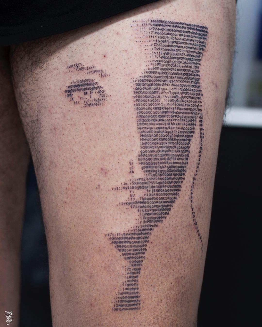 Nastyplace Org Road Viaje Con Madrastra Porn galería de tatuajes en código ascii – 3memes