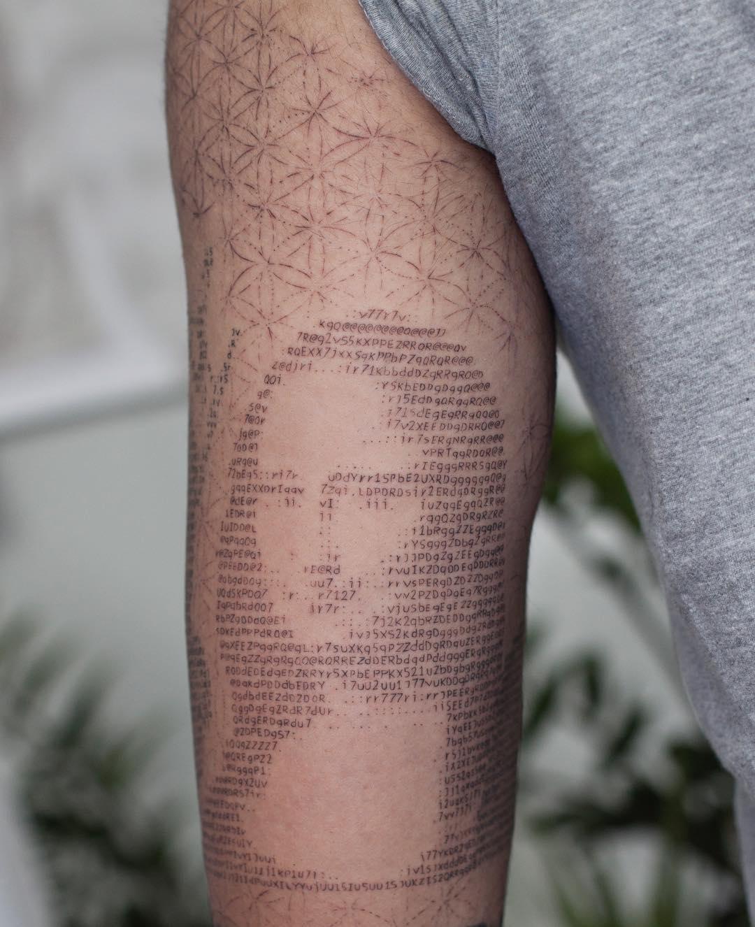 Nombre Actor Porno Con Tatuaje Chelsea En Brazo galería de tatuajes en código ascii – 3memes