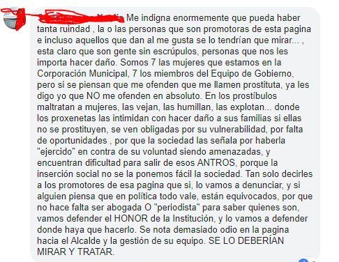 Por este meme, el ayuntamiento de Argamasilla de Alba ha llamado a la Fiscalía