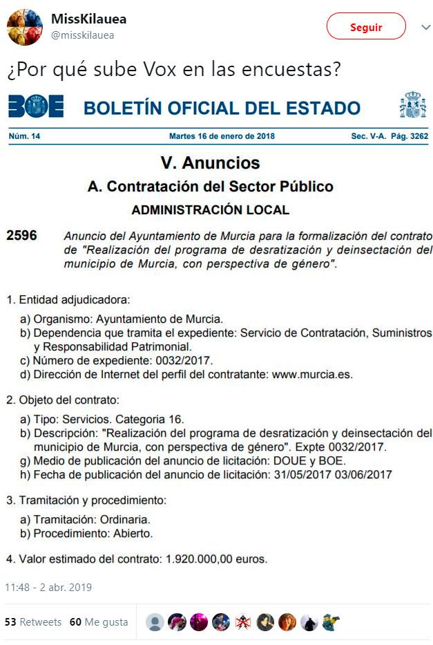 """""""Desratización y desinsectación de Murcia con perspectiva de género"""": 2 millones de €"""