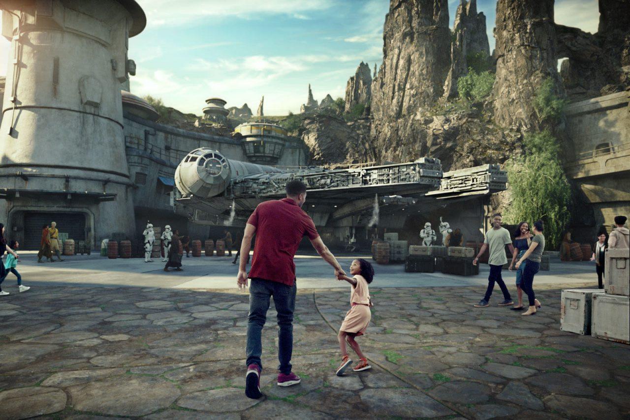 Así es la nueva zona Star Wars Galaxy's Edge de Disneyland