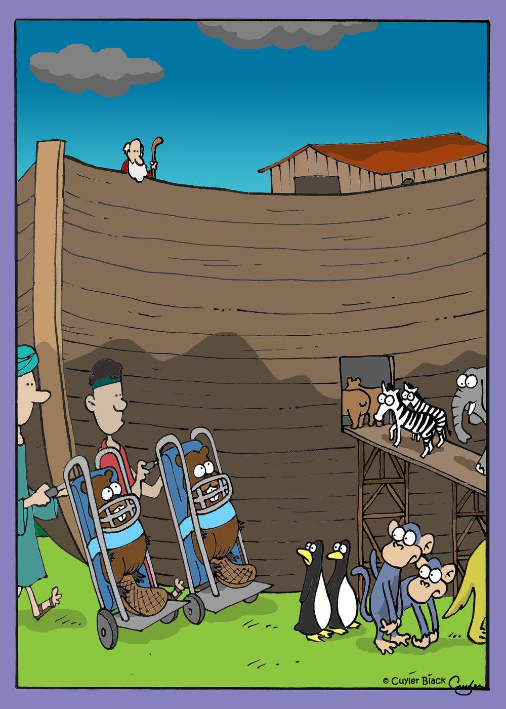 La teoría del Arca de Noé hace aguas