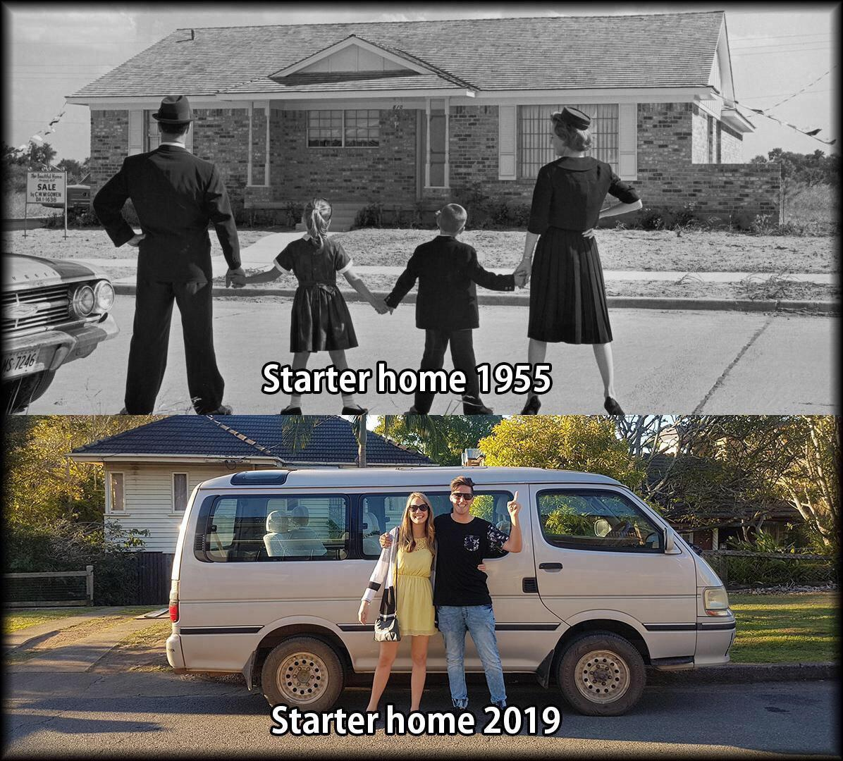 Primer hogar antes vs ahora