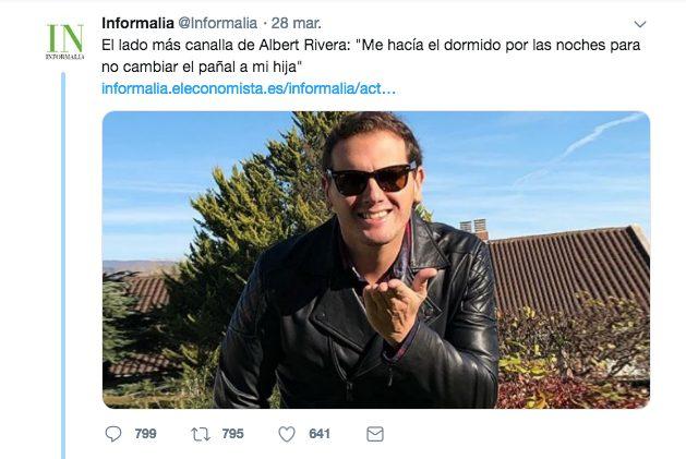 Albert Rivera el canallita