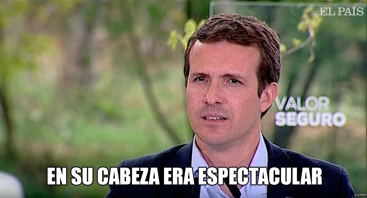 Hola, soy Pablo Casado, y esto es JackAss