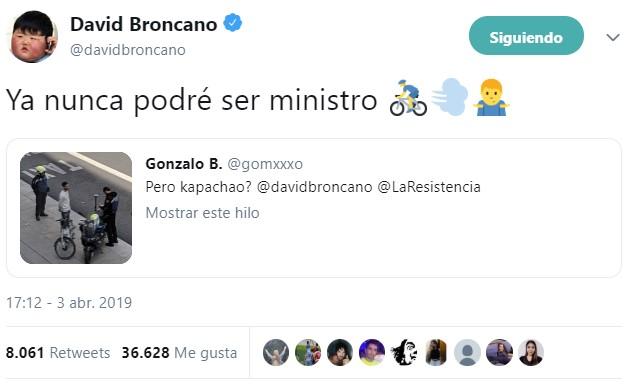ACTUALIZADO | Broncano llega tarde, algo pasa