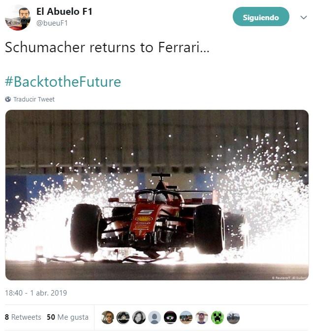 ACTUALIZADO | Bueno, pues ya no queda nada para ver a M.Schumacher montado en un Ferrari. Pero no Michael, sino su hijo, Mick