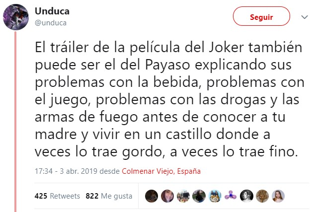 Joker made in Spain