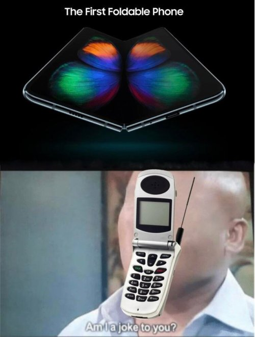"""El primer móvil plegable"""