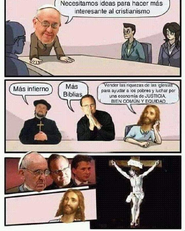 La religión dando ejemplo, como siempre