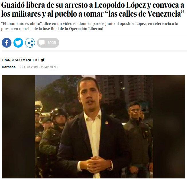 ACTUALIZADO   Blackwater dispone de 5.000 mercenarios listos para intervenir en el golpe de estado contra Venezuela