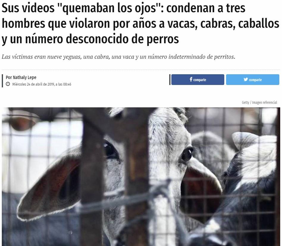"""En PACMA se están planteando la cadena perpetua para esta """"manada"""""""