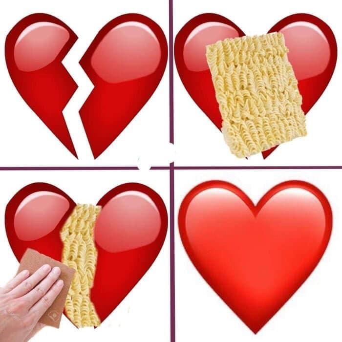Los noodles son la nueva cinta americana