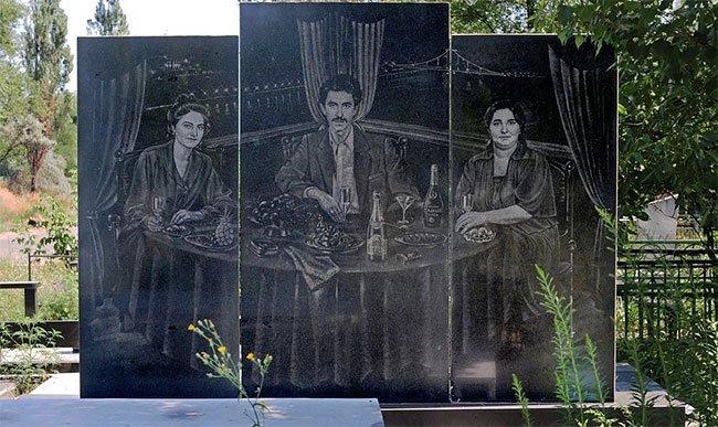 Galería de tumbas made in Russia
