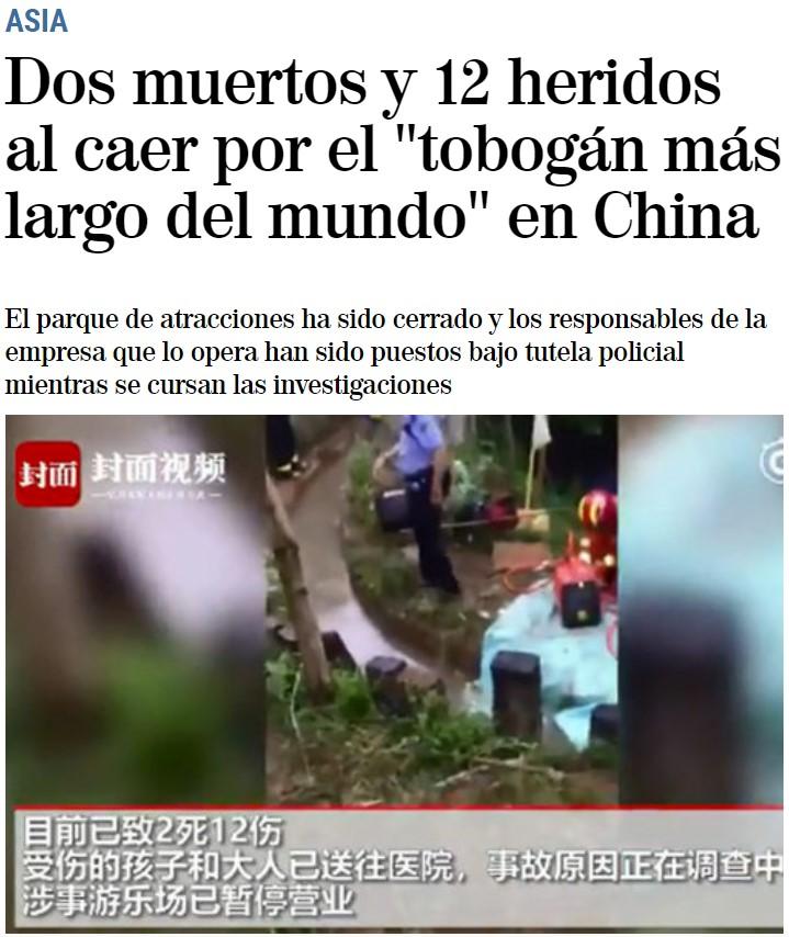 """Inaugurado en Estepona el tobogán urbano más grande de Europa: """"A ver cuánto tarda en matarse un guiri"""""""