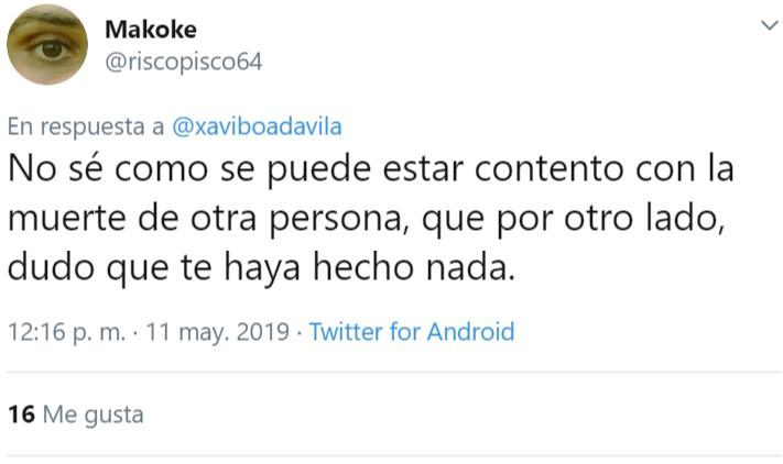 Xavi está muy contento porque ha muerto Rubalcaba, ojo a los motivos...
